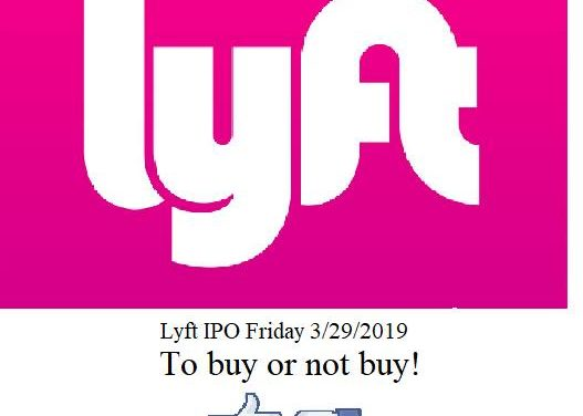 LYFT I.P.O. To Buy Or Not Buy?