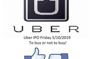 UBER I.P.O. To Buy Or Not Buy?